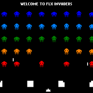 FlxInvaders